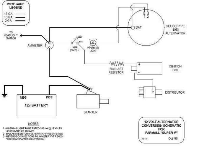 Wiring Diagram For A Delco Remy Alternator : Delco remy alternator wiring diagram fuse box and