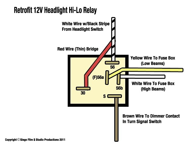 Wiring Diagram For 12 Volt Relay with regard to 12 Volt