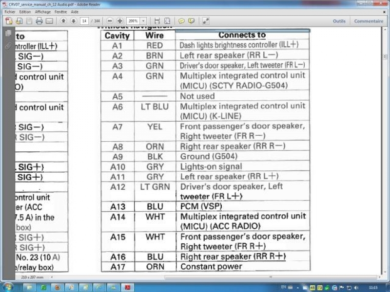 Wiring Diagram For 2004 Honda Crv – Readingrat within 2004 Cr V Radio Wiring Diagram