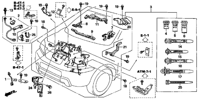 Wiring Diagram For 2007 Honda Crv – Aeroclubcomo regarding 2007 Honda Accord Wiring Diagram