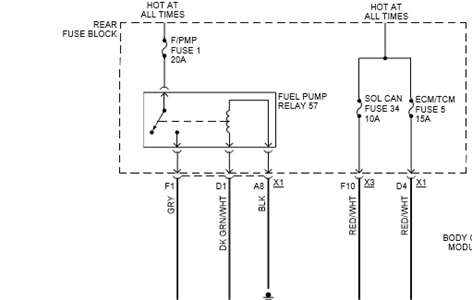 Wiring Diagram For 2008 Buick Lucerne Fuel Pump Relay - Fixya inside Fuel Pump Relay Wiring Diagram