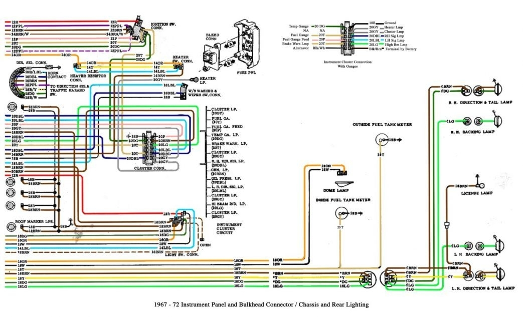 Wiring Diagram For A 1995 Chevy Pickup Truck. Chevrolet with regard to 1995 Chevy Silverado Wiring Diagram