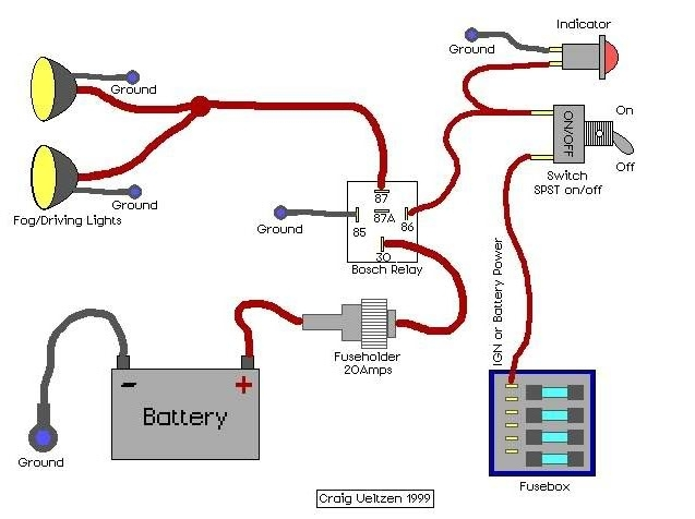 Wiring Diagram For A 5 Pin Relay – Ireleast – Readingrat intended for Bosch 5 Pin Relay Wiring Diagram