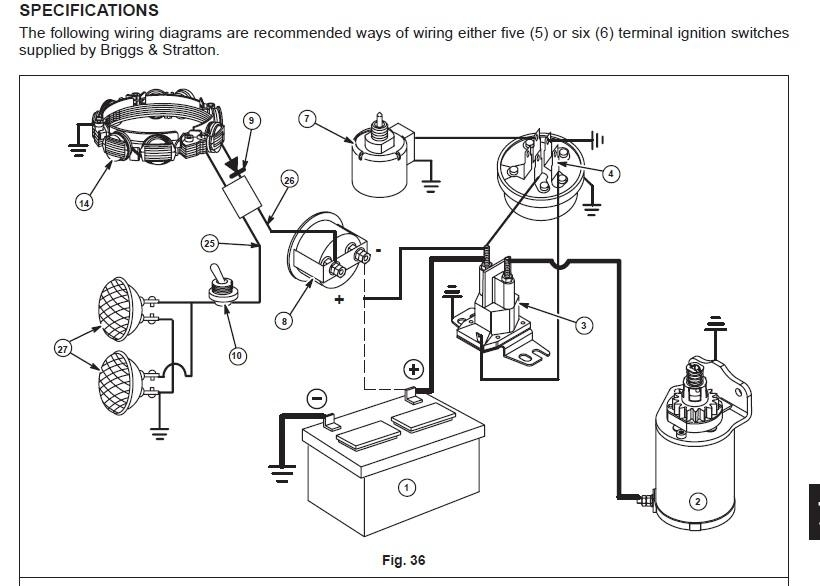 Wiring Diagram For Briggs And Stratton 18 Hp – The Wiring Diagram with Briggs And Stratton Wiring Diagram