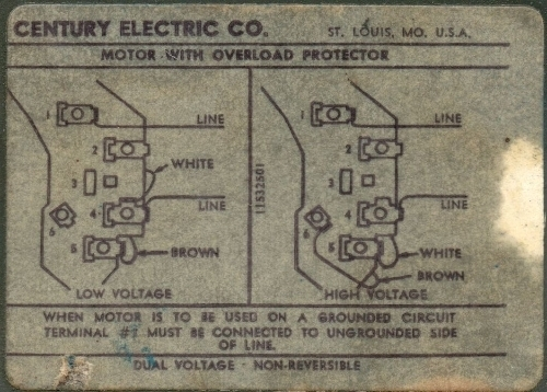 Ao Smith Motor Wiring Diagram : Century electric motor wiring diagram fuse box and