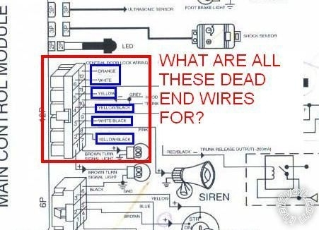 Wiring Diagram For Clifford Car Alarm Clifford Alarm Wiring in Car Alarm Wiring Diagram