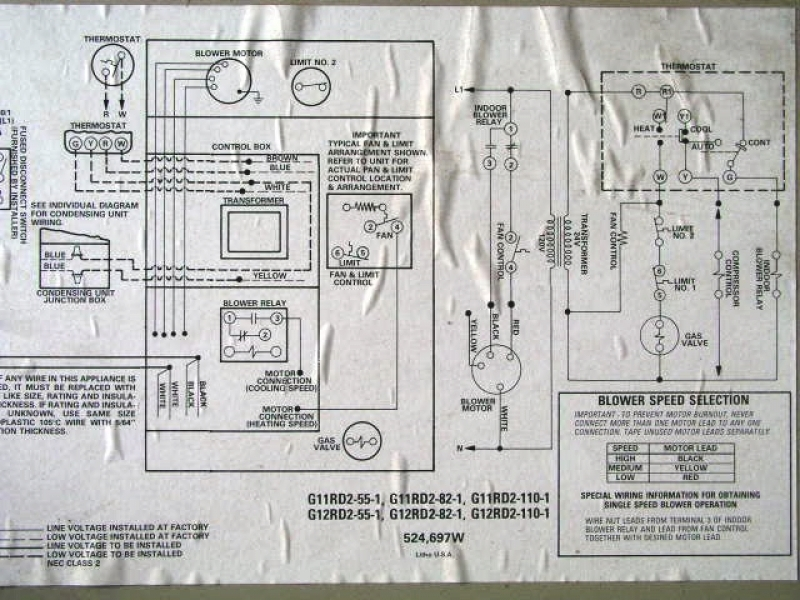 Wiring Diagram For Gas Furnace - Facbooik inside Lennox Furnace Thermostat Wiring Diagram