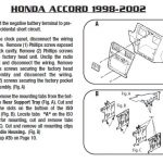 Wiring Diagram For Radio Of 1995 Honda Accord – The Wiring Diagram throughout 2001 Honda Accord Window Wiring Diagram