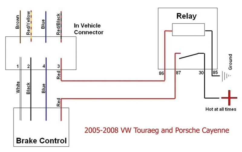 Wiring Diagram For Tekonsha Brake Controller – The Wiring Diagram throughout Brake Controller Wiring Diagram