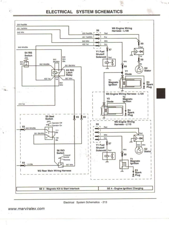 Wiring Diagram John Deere L120 Schematics Schematic | Alexiustoday throughout John Deere 1445 Wiring Diagram
