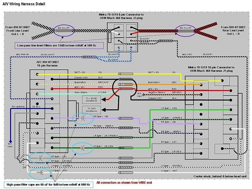 Wiring Diagram For Jvc Car Radio : Jvc kd r wiring diagram fuse box and