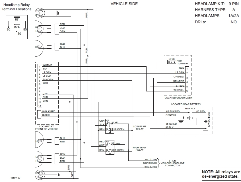 Wiring Diagram Western Snow Plow For Alluring Unimount regarding Boss Snow Plow Wiring Diagram