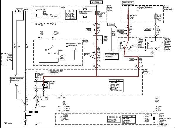 2007 chevy malibu electrical wiring diagrams