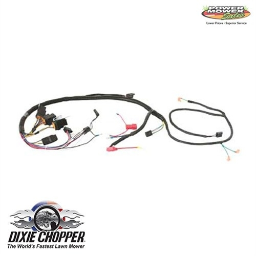 Wiring Harnesses For Dixie Chopper Lawn Mowers within Dixie Chopper Wiring Diagram