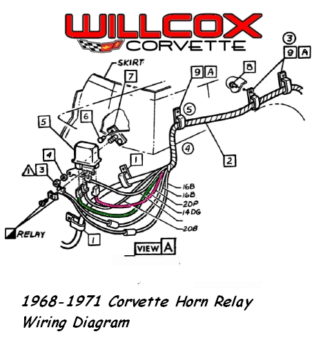1969 Camaro Horn Relay Wiring Diagram on 69 camaro wiring diagram manual