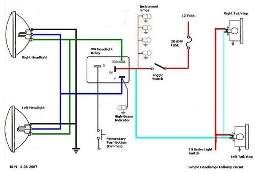 Wiring Jeep Headlight Switch Wagoneer 69 Beauteous Dimmer Diagram regarding Headlight Dimmer Switch Wiring Diagram