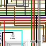 Yamaha Rd250Lc Rd350Lc Uk Spec Colour Electrical Wiring Diagram inside Fj1200 Wiring Diagram