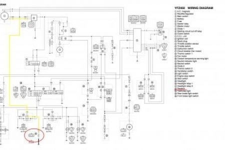 2006 Yfz 450 Wiring Diagram Fuse Box And Wiring Diagram