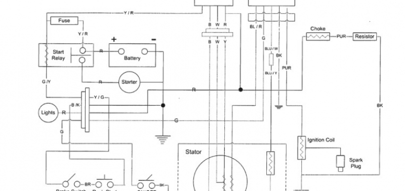 Yerf Dog 150Cc Wiring Diagram (Go-Kart) – Buggy Depot Technical inside 150Cc Go Kart Wiring Diagram