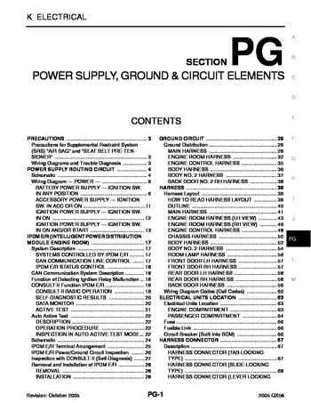 2005 Infiniti Qx56 - Power Supply, Ground & Circuit Elements inside 2007 Infiniti Qx56 Electrical Wiring Diagram