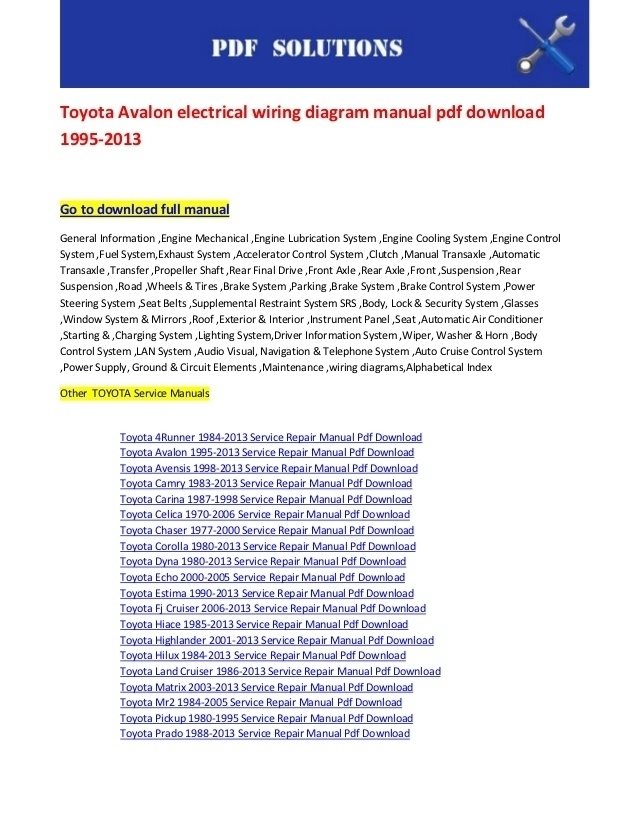 2007 Toyota 4Runner Wiring Diagram | Wiring Diagram And Fuse Box regarding 2007 Toyota 4Runner Wiring Diagram