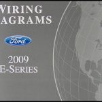 2009 Ford Econoline Van & Club Wagon Wiring Diagram Manual Original pertaining to 2009 Ford E350 Wiring Diagram