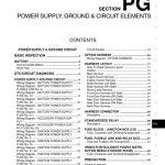 2009 Nissan Cube - Power Supply, Ground & Circuit Elements regarding 2009 Nissan Cube Wiring Diagram