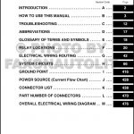 2009 Toyota Venza Wiring Diagram Manual Original in 2009 Toyota Venza Wiring Diagram