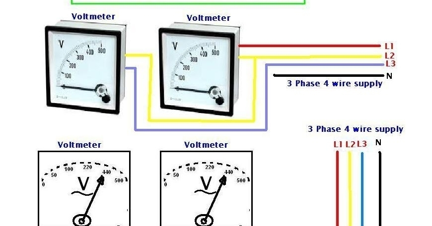 3 Phase Ac Voltage Electrical Wiring Diagrams   Wiring Diagram And inside 3 Phase Ac Voltage Electrical Wiring Diagrams