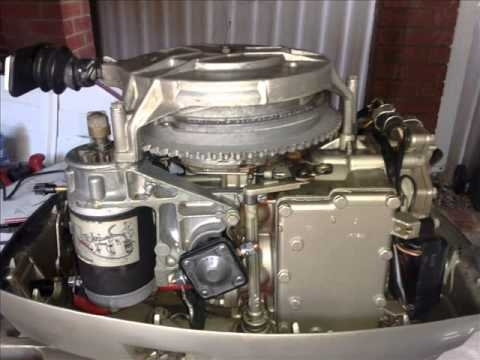 35Hp Evinrude Electric Conversion 1978 Model - Youtube for 35 Hp Evinrude Wiring Diagram