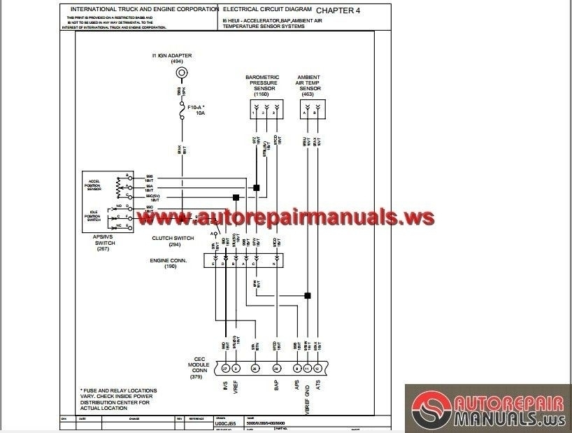 4700 International Truck Wiring Diagrams | Wiring Diagram And Fuse with 4700 International Truck Wiring Diagrams