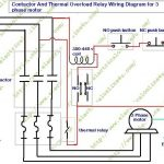 How To Wire Contactor And Overload Relay - Contactor Wiring with 3 Phase Motor Wiring Diagram Contactor Relay