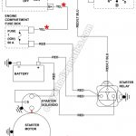 Part 1 -1992-1994 4.0L Ford Ranger Starter Motor Circuit Wiring with regard to 2009 Ford Ranger Wiring Diagram