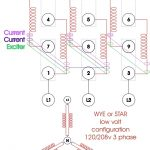 Re-Wiring A Three Phase Generator | Anoldman within 3 Phase Generator Wiring Diagram