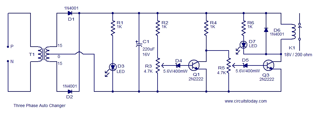 3 Phase Ac Voltage Electrical Wiring Diagrams