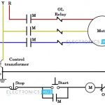 Three Phase Wiring within 3 Phase Motor Wiring Diagram Contactor Relay