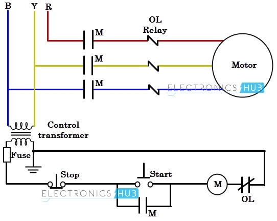 Three Phase Wiring within 3 Phase Motor Wiring Diagram