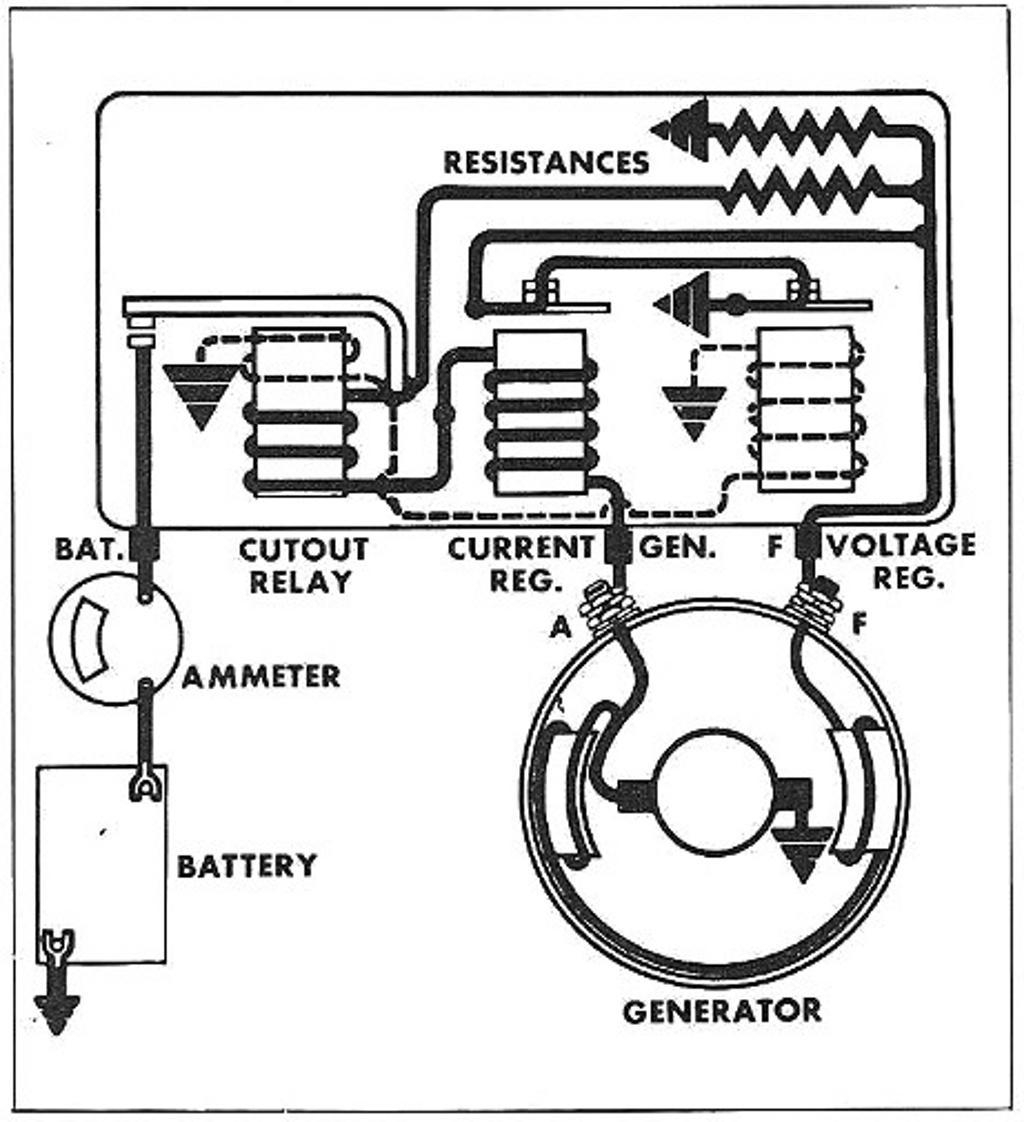 6 volt ford generator wiring diagram 6 volt battery
