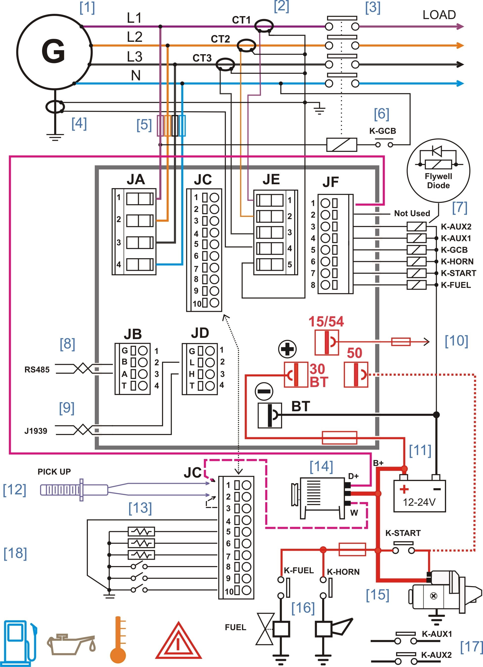 diesel generator control panel wiring diagram genset controller inside ac electrical wiring diagrams generator service panel wiring diagram wiring diagram simonand residential power panel wiring diagram at crackthecode.co