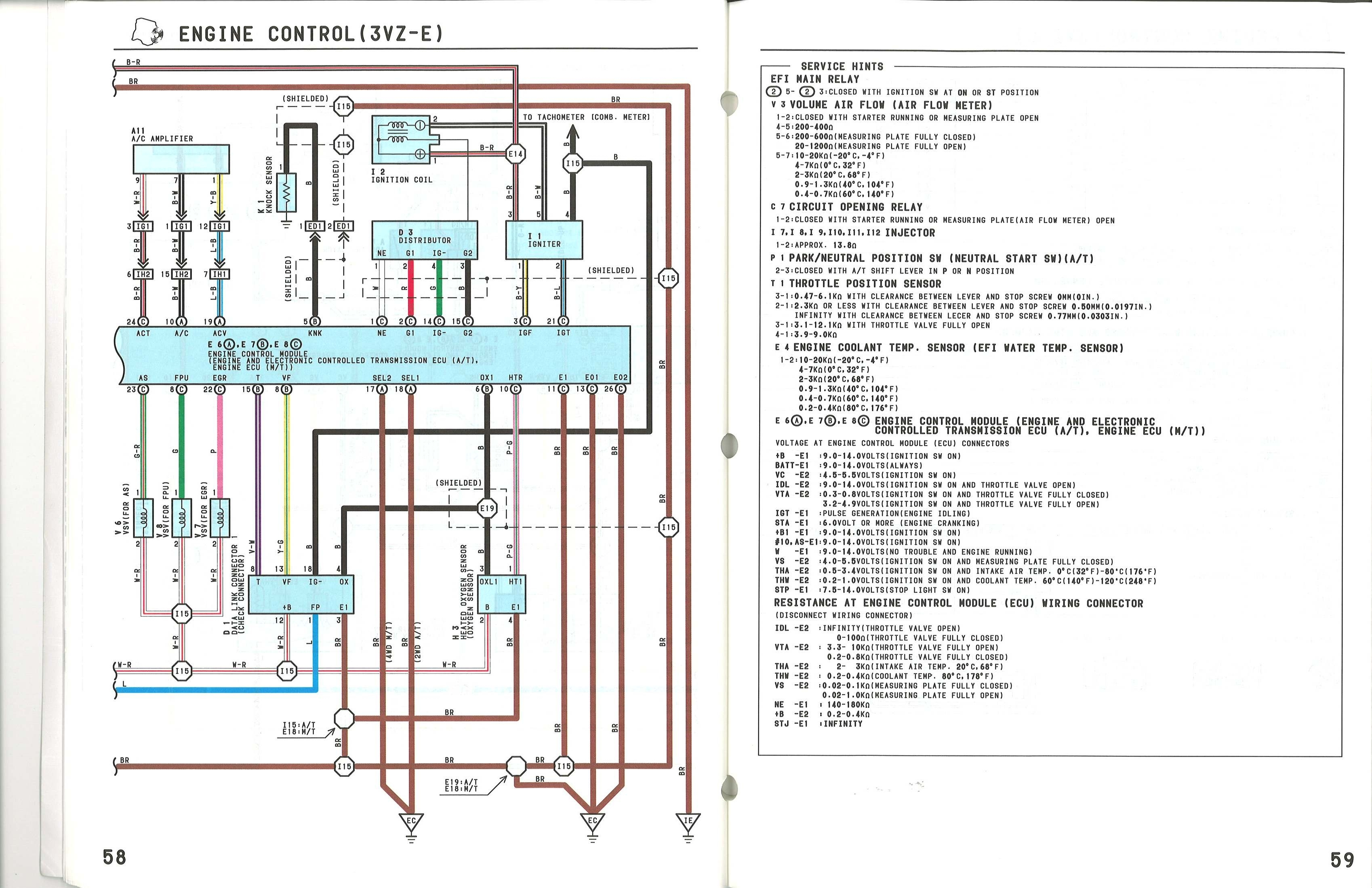 Ecu Diagram For Vz E Yotatech Forums In Toyota Runner Wiring Diagram on 1993 Nissan Wiring Harness Diagram