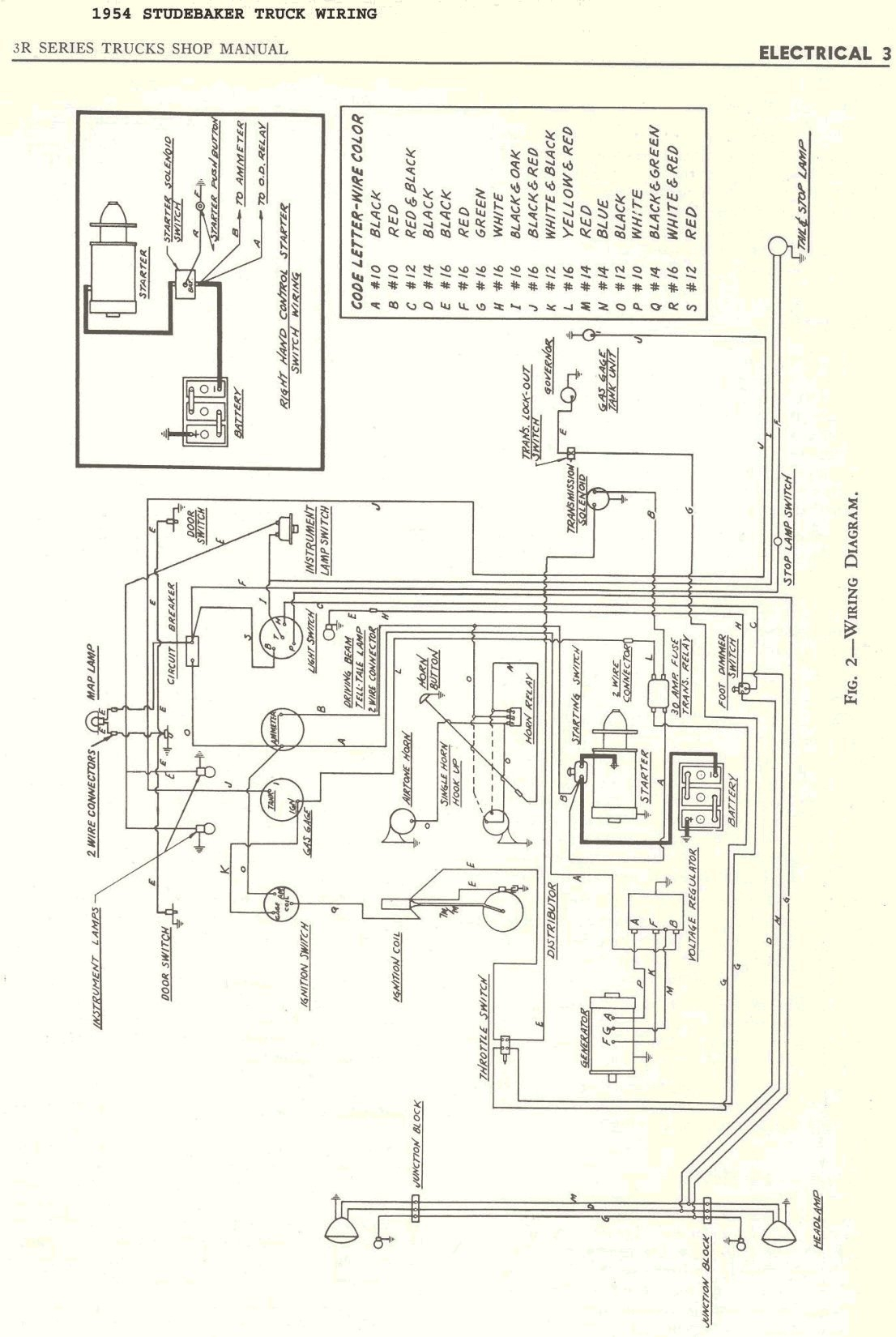 Electrical: 55' Pickup. Pos. Or Neg. Ground? in 6 Volt Positive Ground Wiring Diagram