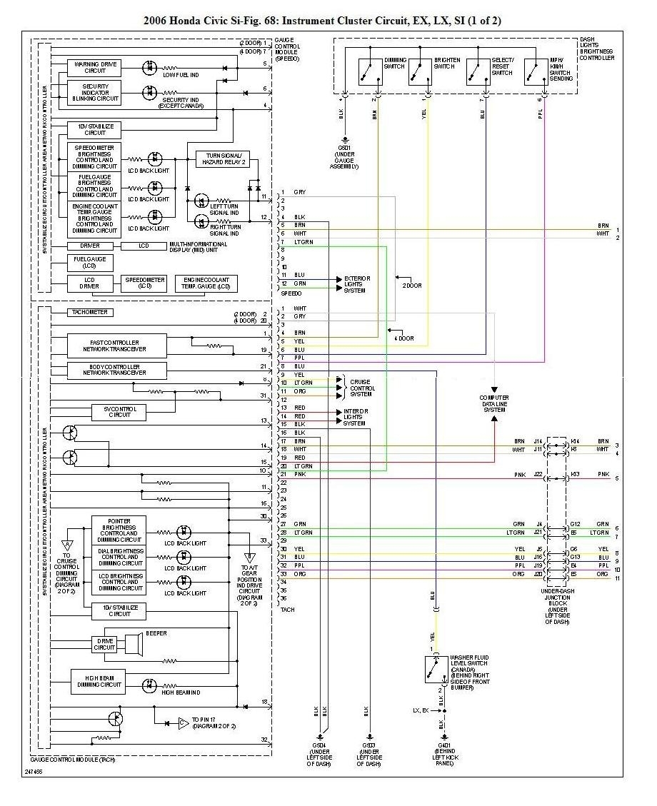 Electrical Wiring Diagrams Updated Asap 8th Generation Honda In 99 Honda Civic Wiring Diagram on 1989 chevy truck engine diagram
