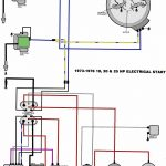 Evinrude 1970 25 Hp, How Do I Wire The Starter/solenoid/battery within 76 Evinrude Wiring Diagram