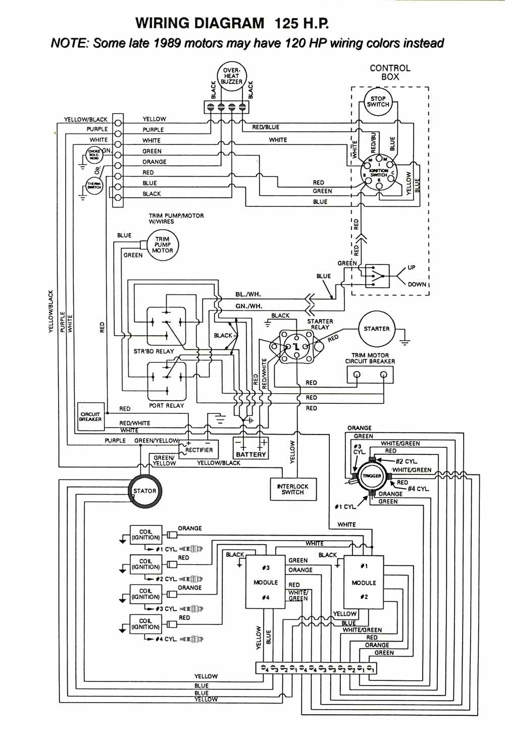 Mastertech marine chrysler force outboard wiring