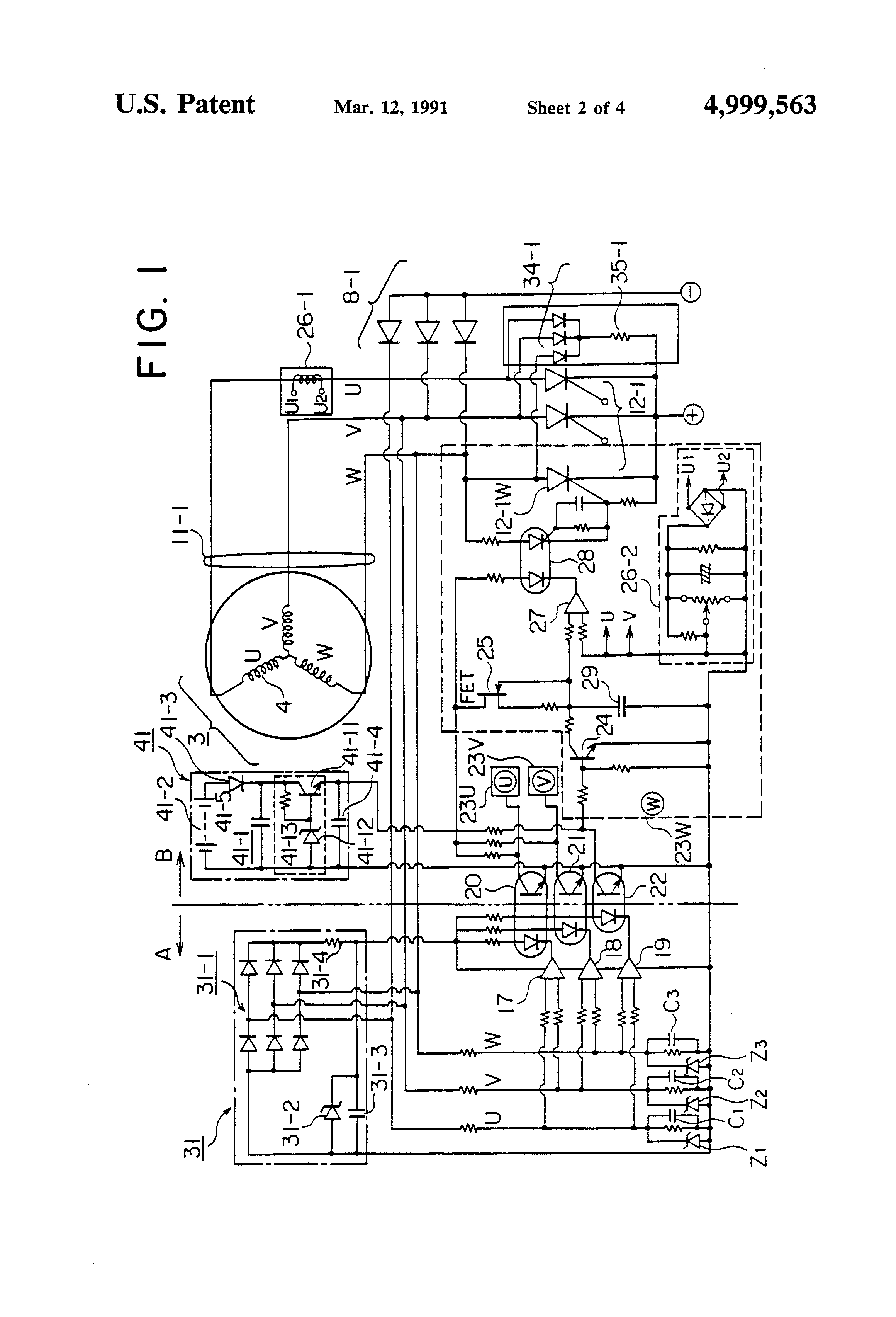 patent us4999563 separately power feeding welding generator pertaining to ac electrical wiring diagrams generator 6500s generator kubota ignition switch wiring diagrams wiring generator ignition switch wiring diagram at edmiracle.co