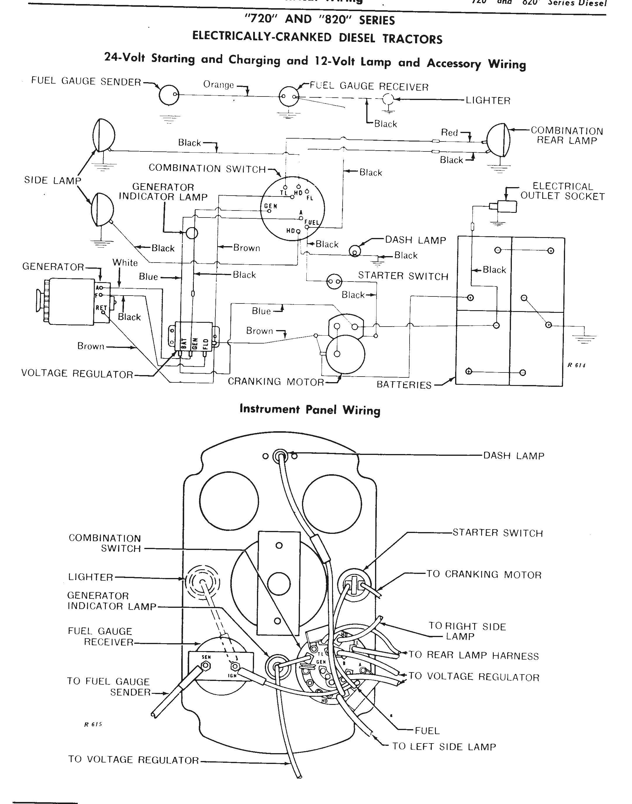 The John Deere 24 Volt Electrical System Explained for 6 Volt Generator Wiring Diagram