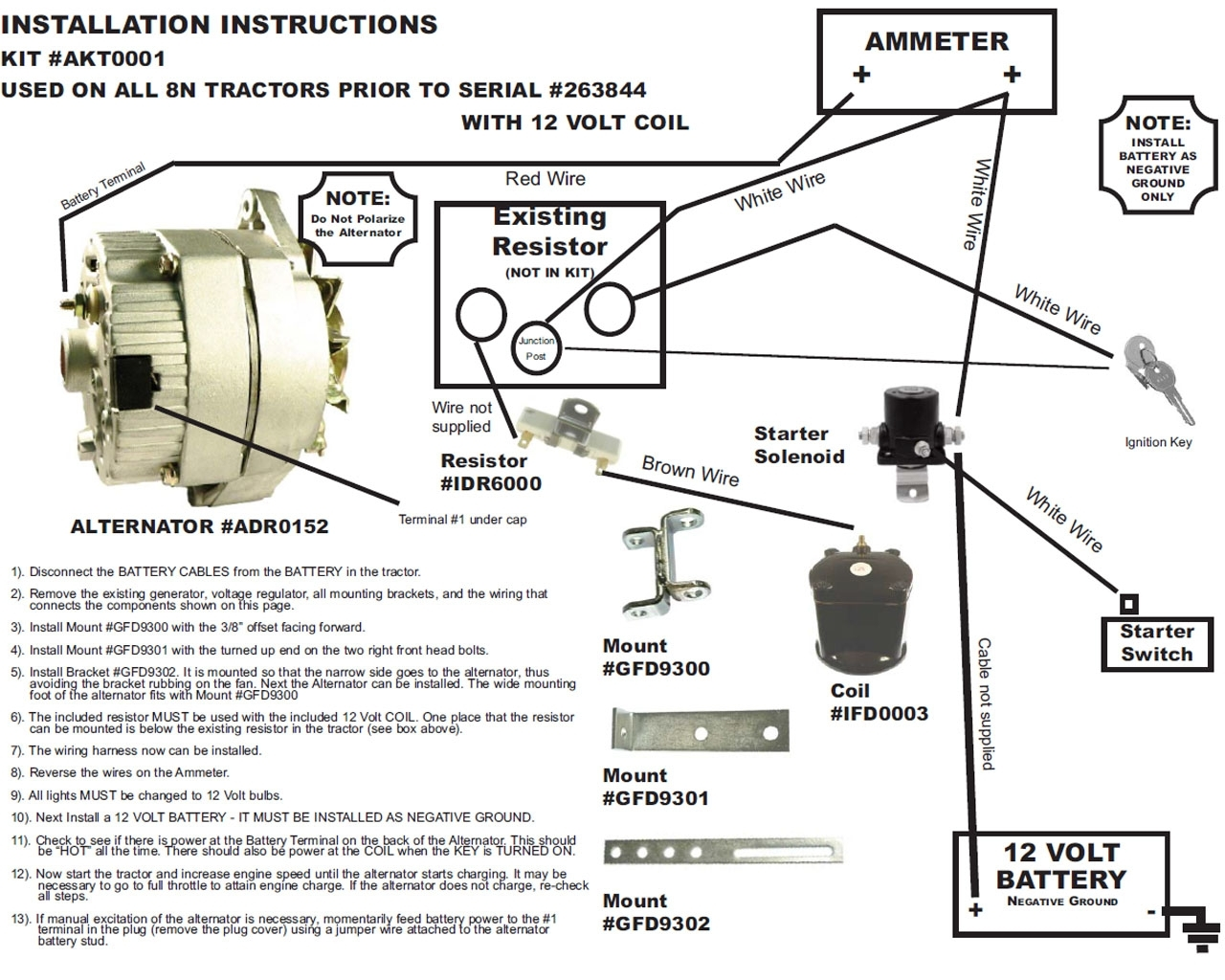 Wiring Diagram For International 656 – The Wiring Diagram pertaining to 6 Volt Positive Ground Wiring Diagram