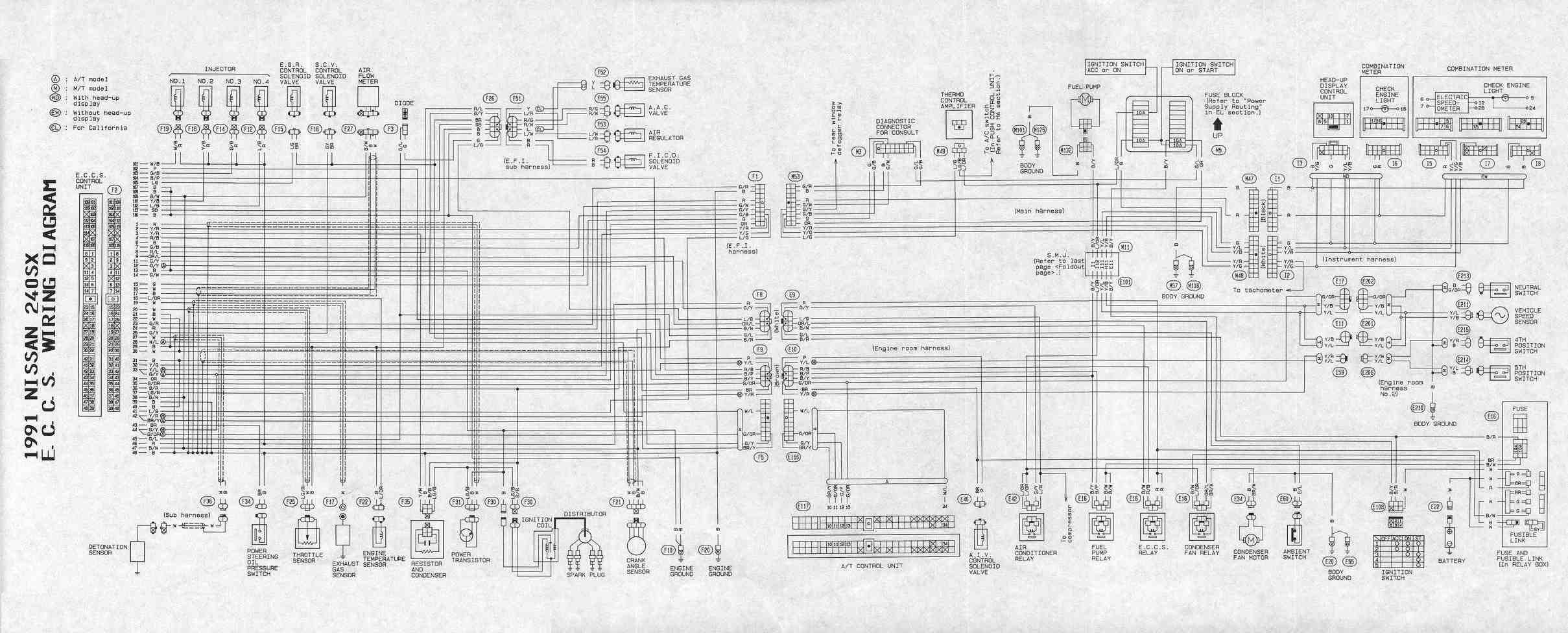 Wiring Diagram Nissan 2 4 ~ Circuit And Wiring Diagram for Bluebird Wiring Diagram 1995